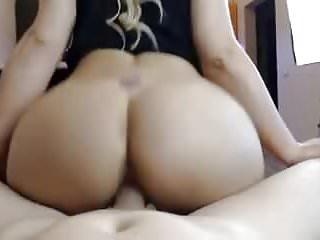 Couple fucking doggy cowgirl blowjob & footjob big sexy ass