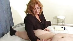 Humiliating Handjob For Little Cock