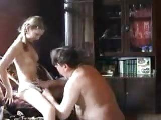 STP5 Lovely daughter Fucks Fat dad !