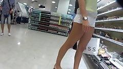 Gorgeous white short