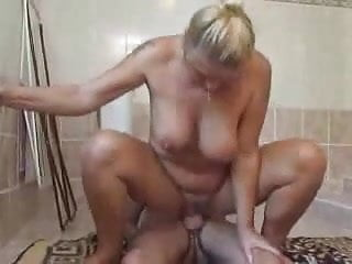 Granny Takes A Fucking Bath