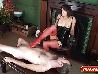 Puppet girl latex bondage - Magma film sexy dominatrix taking control