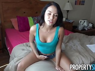 Propertysex Young Brunette Fucks Her Landlord On Camera