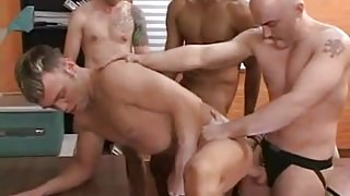 gay group bareback sex