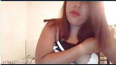 Hot asian girl big tits cam