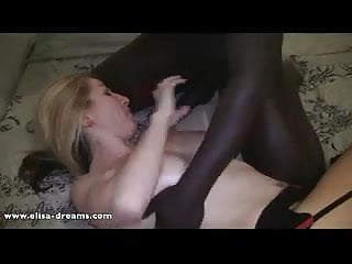 Sex with a black guy in an abandoned house