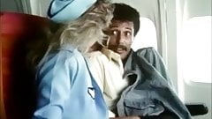 Stewardesses fuck and suck in 'Sky Foxes' (1986) - part 2