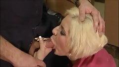 hot blonde cumshot compilation