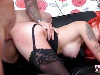 PureXXXFilms horny punk slut with big tits fucked hard
