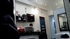 In beauty salon :)