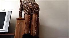 Sexy Arabic Sister Upskirt Show