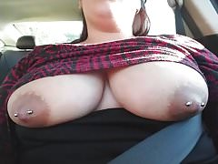 Driving around with the girls out