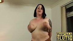 Anally slammed mature slut choked and slapped by master's Thumb