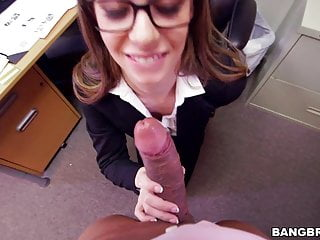 Tali Dova gets BBC in her office