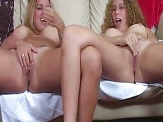 two fucking girlfriends masturbate together for you