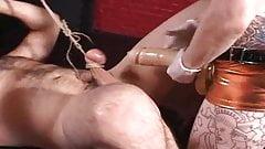 Mistress fucks slave with strapon 8