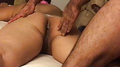 Anal pounding for my  sexy Latina wife
