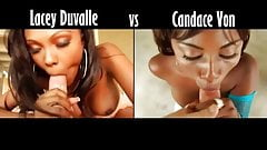 Lacey Duvalle vs Candace Von