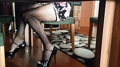 Sexy Secretary Spy Upskirt