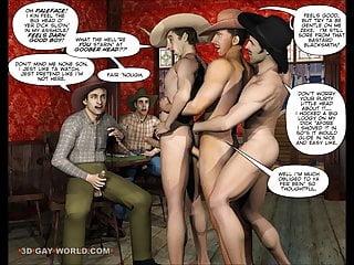 3D gay cartoon sesso