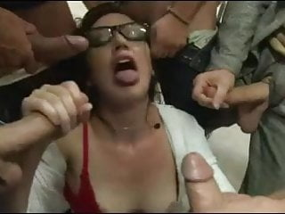 Gangbanged in the classroom