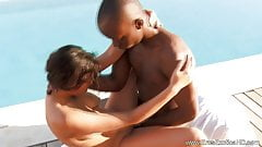 Lovers From Africa Enjoy Sex