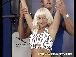 horny muscle mome needs hard