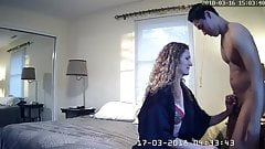 husband surprises wife with young guy ipcam