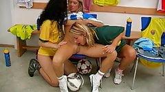 Three sporty lesbians