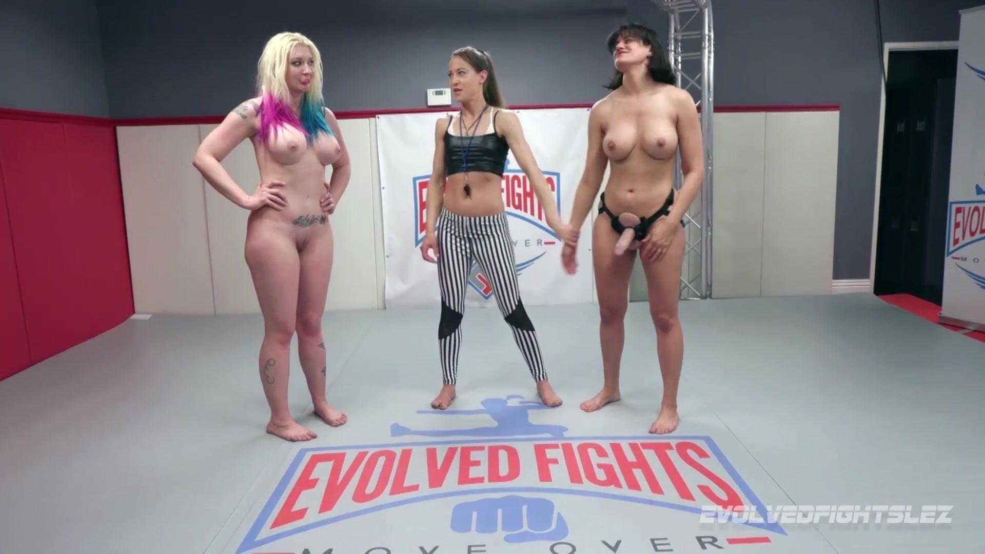 Black Vs White Wrestling