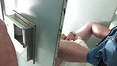Caught dude jerking off in the men's room