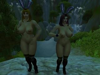 Preview 3 of Warcraft Busty Human Bunnies