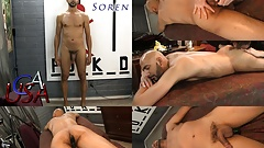 Soren's nipples are directly hardwired to his junk!
