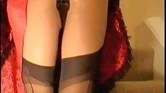 Upskirt Black Knickers