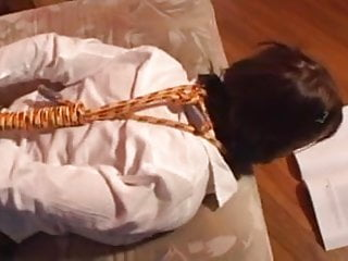 Bondage and anal fucking for Cutie
