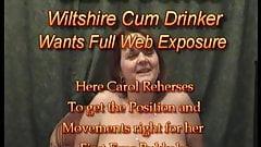 Carol Jones Bukkake Rehersal