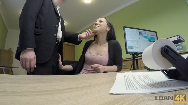 LOAN4K. Critical mortgage agent drills asshole of fairly brunette