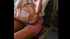 Train MiLF Tight Upskirt