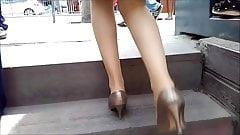 Banker Girls Pantyhose Legs