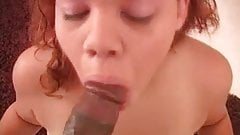 Young BBW Jaylynn Sucking Black Dick