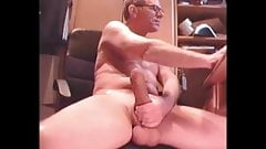 Daddy's huge prick and big balls