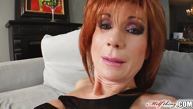 Preview 1 of Milf Thing Redhead milf gets her mature pussy fucked