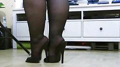 Casalinga  bbw piedi da sborra