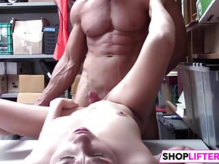Gal Carolina Takes Officers Penis For Theft