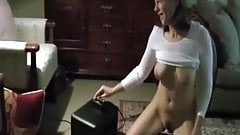 Mature wife on sybian