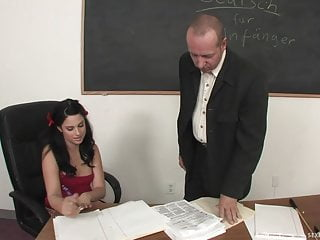 Porn video post daily teacher desk - Cute student squirts all over her teachers desk