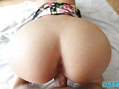 Date Slam - Blonde cutie fucks on 1st date - Part 1