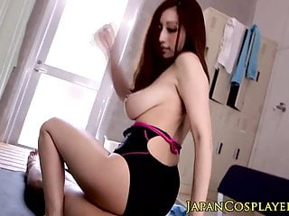 Download video bokep Busty japanese Julia grinds on cock in swimsuit Mp4 terbaru
