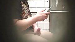 COLLEGE STUD CAUGHT JERKING OFF IN BATHROOM 4