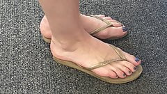 Candid Feet Sexy Toes #34